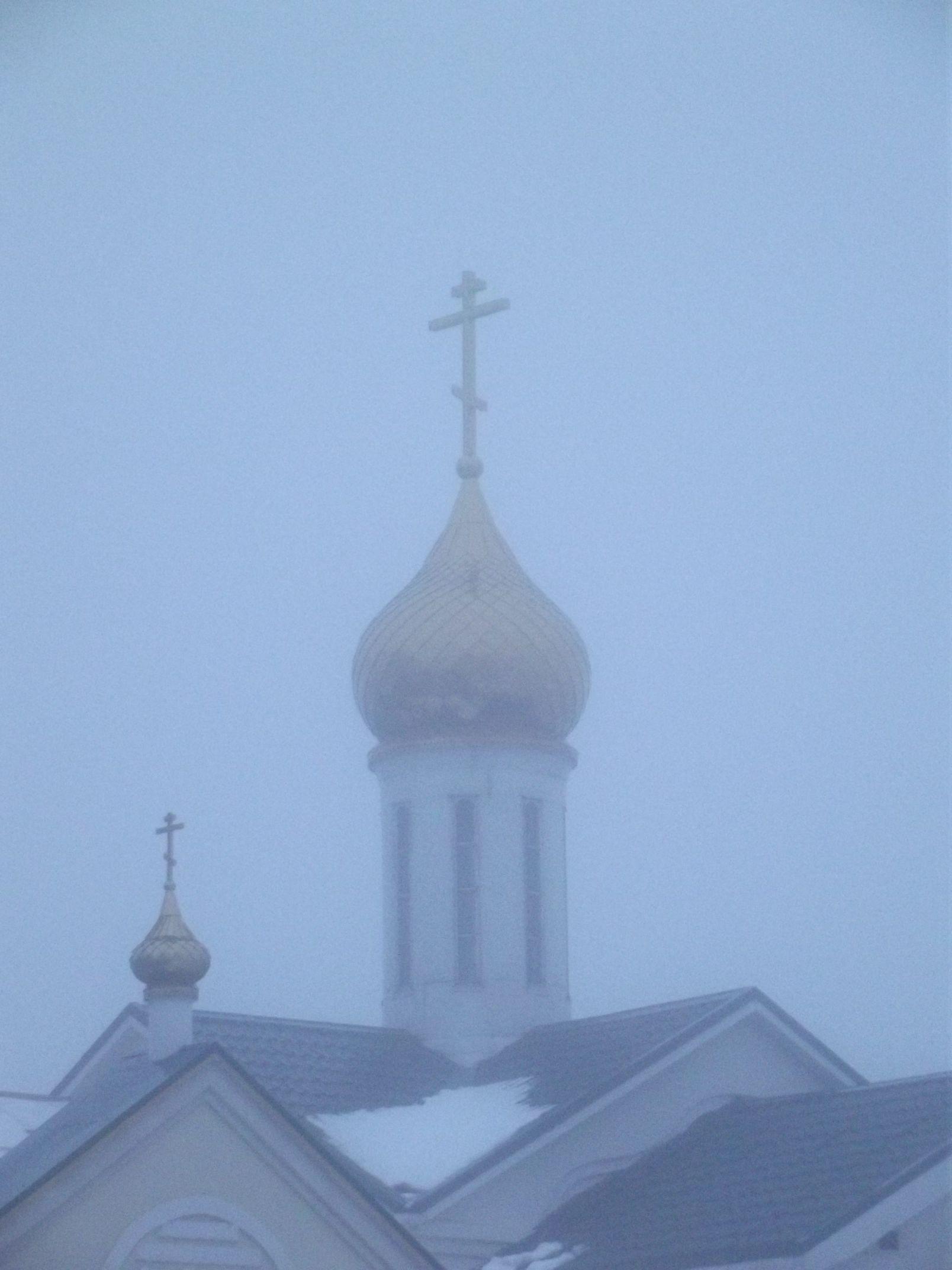 Крещенские туманы Таганрога