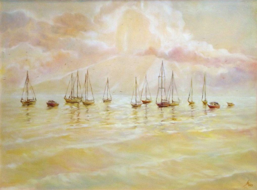 Пятничные художественные смотрины ч. 7: и снова море